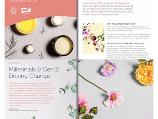 Case Study: Organic Beauty & Wellness, 2019 trends