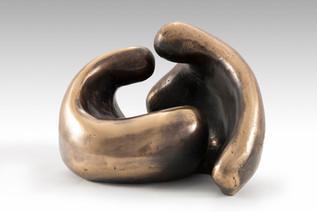 Untitled, 2011, Bronze 25 x 23 x 20 cm