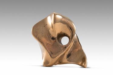 Elephant, 2013, Bronze 3 x 8 x 6 cm
