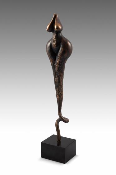 Magic, 2012, Bronze 10 x 8,5 x 51 cm