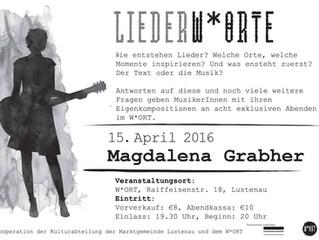 Heute Konzert IM WORT, Lustenau
