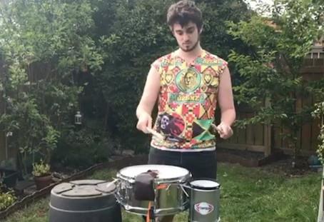 Let's get drumming with Callum