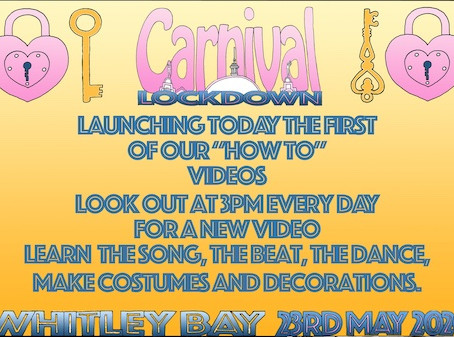 """Launching the first of our carnival """"how to"""" videos"""