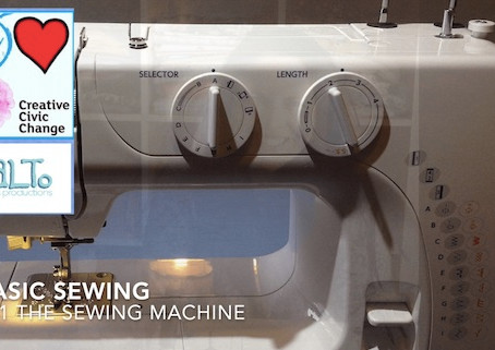 Getting started with a sewing machine