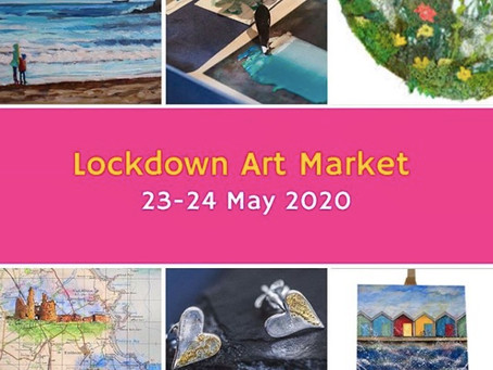 Don't miss the Lockdown Art Market