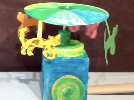 Wheelie Whitley: Wheeled Spinning Toy