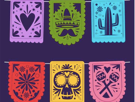 Lock-down Carnival - Mexican Bunting Video