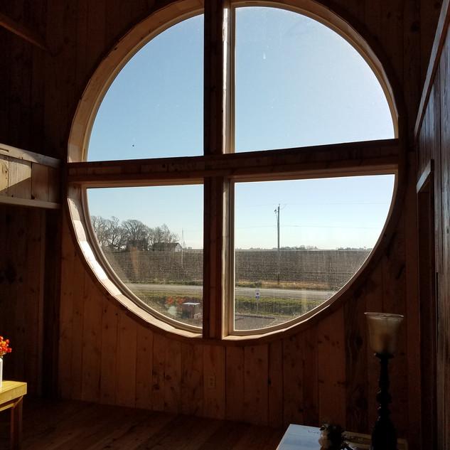 That big window!