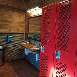 Men's lockers
