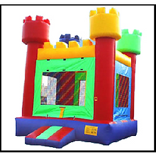Watch tower bounce house