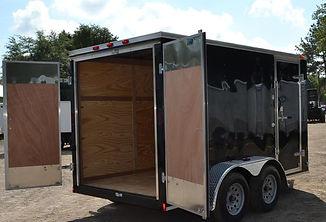 enclosed trailer
