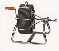 manual 50' sewer auger