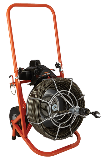 large electric sewer auger