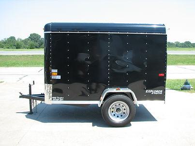 enclosed 5x8 trailer