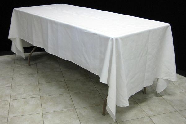 60x120 rectangular linen