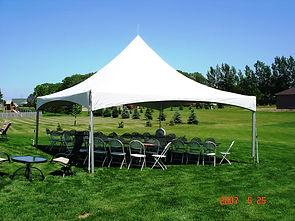 20x20 frame tent