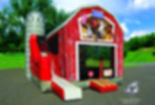 Bouncin' Barnyard inflatable