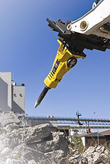 skid loader hydraulic hammer