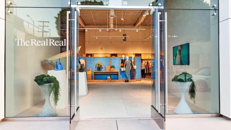 La boutique the Real Real de Los Angeles