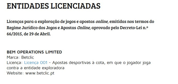 Casas de apostas a operar em portugal com cash out