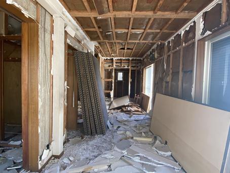 青葉区NM邸解体工事始まりました。
