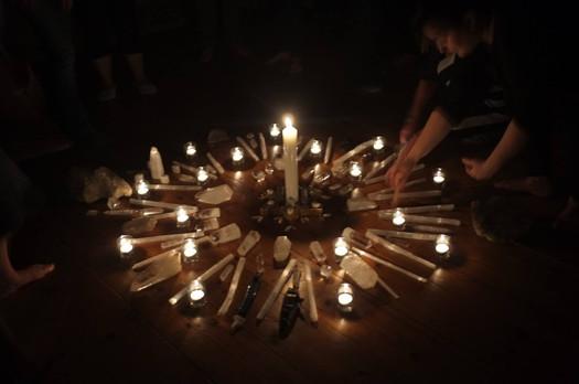 Candlelit Mandala