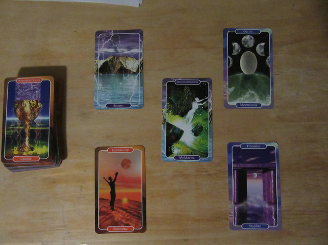 Crystal Ally Card Reading for the Retreat