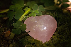 Rose Quartz Heart Shaped Crystal
