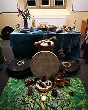 shamanic retreat altar.jpg