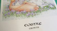 Celebrating Spring Equinox with the Goddess Eostre and Aventurine
