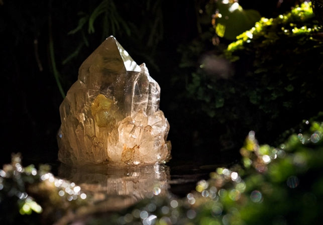 kundalini citrine crystal