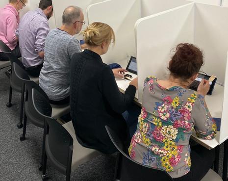 Booths tatse testing