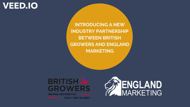 Partners in Produce - England Marketing and British Growers work together to develop Produce View