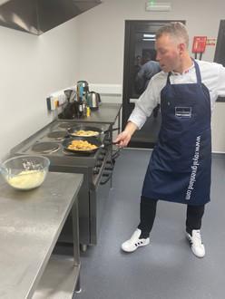 Chef flies in from Denmark
