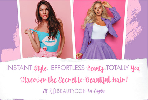 Discover the Secret To Beautiful Hair At Beautycon LA