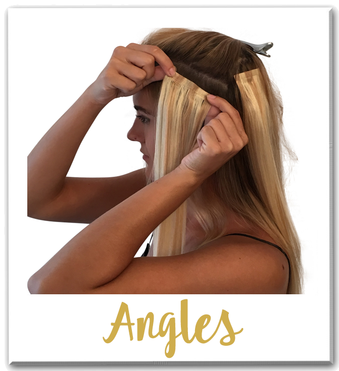 Barely Xtensions Angles