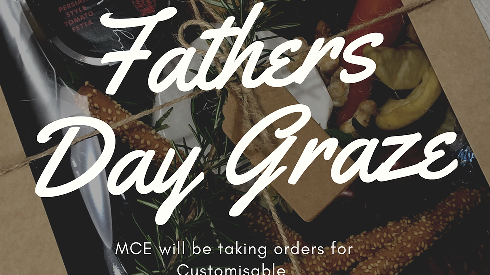 Fathers Day Graze & Gift Box