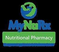 My NuRX Logo 8x7 Nutrtional Pharmacy rev