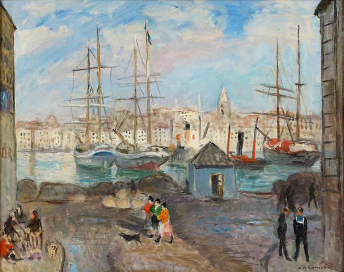 31 - Camoin Marseille, le quai aux huile