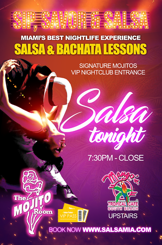 Salsa Lessons Miami Beach, Miami Nightlife, Miami Event, Miami things to do, Miam Beach club, Miami Beach dancing, miami beach tours