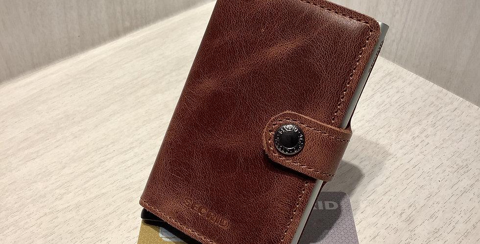 SECRID-miniwallet-Vintage Brown