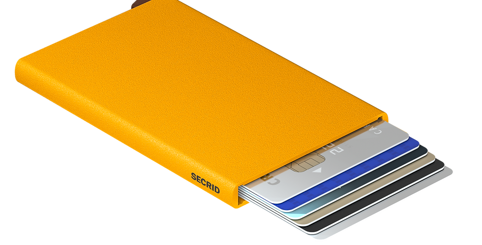 SECRID-Cardprotector Powder Ochre