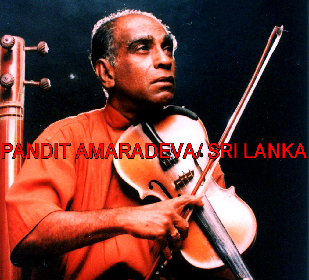 PANDIT AMARADEVA/ SRI LANKA