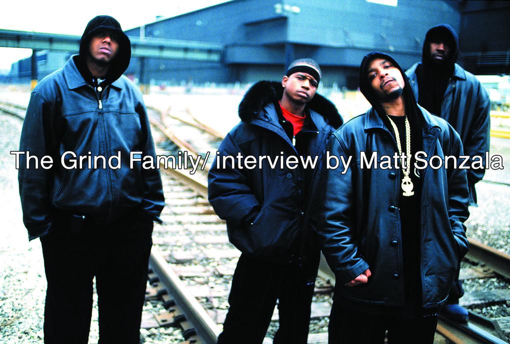 The Grind Family/ interview by Matt Sonzala