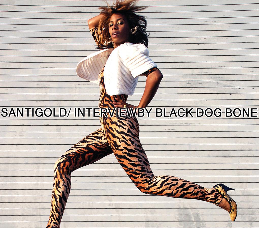 Santigold/ interview by black dog bone