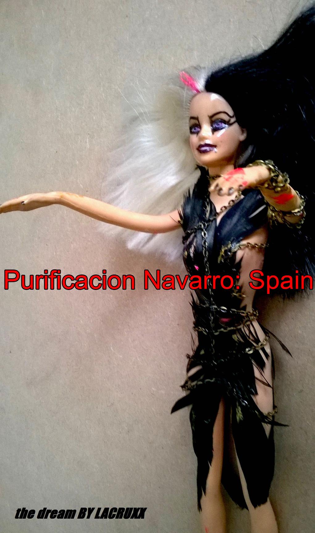 Purificacion Navarro: Spain/by black dog bone