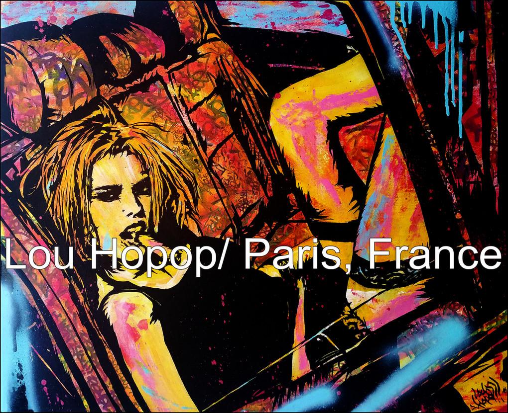 Lou Hopop: Paris, France/ interview by black dog bone
