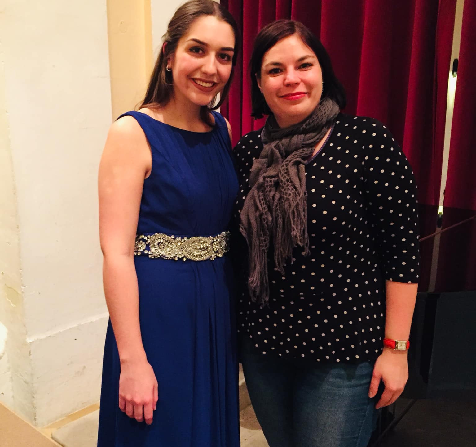 With Julia Miller, Accompanist.
