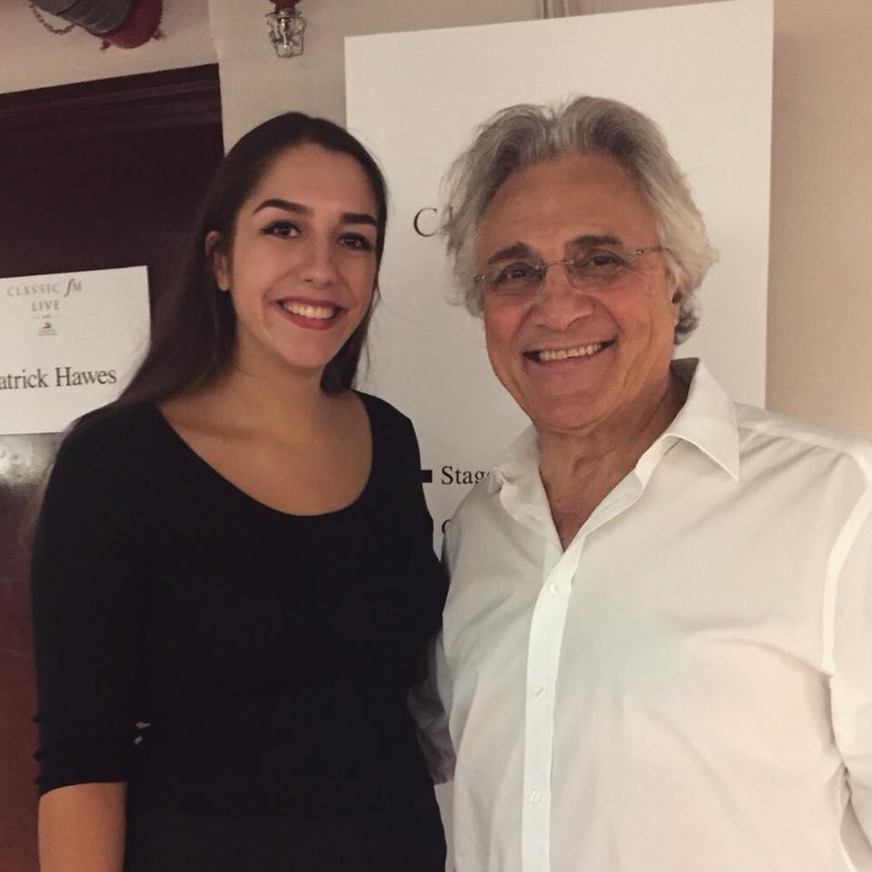 Lucky Lucy got the chance to meet Classic FM's wonderful presenter John Suchet!