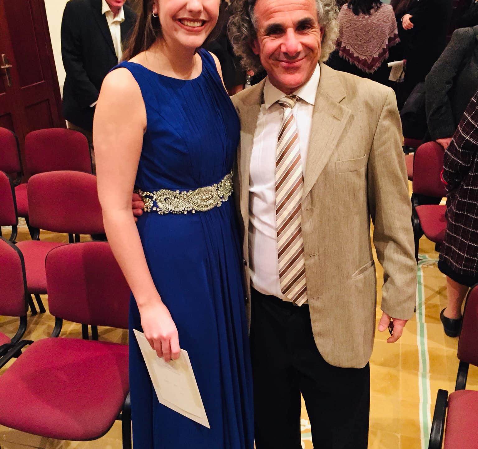 With Colin Attard, director of Gaulitana: A Festival of Music.